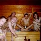 W saunie